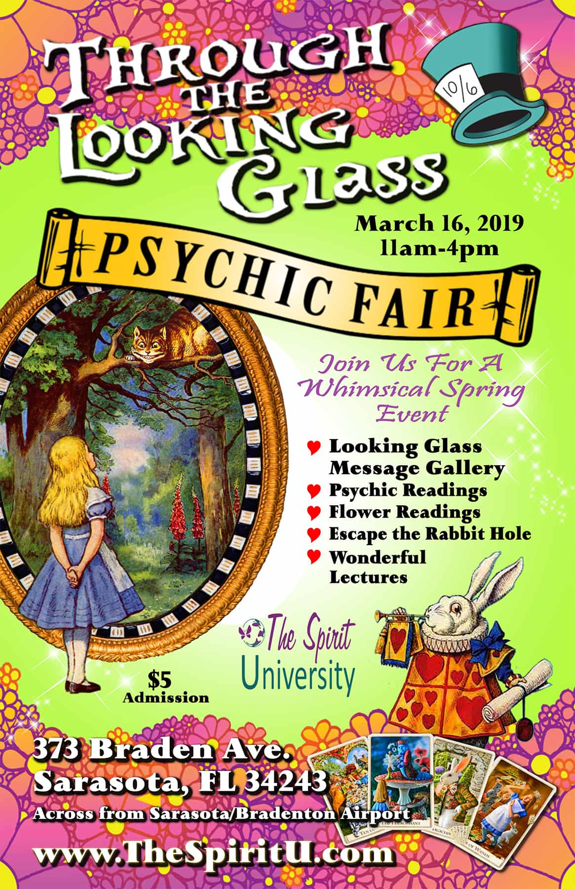 Through The Looking Glass: Psychic Fair, Open House